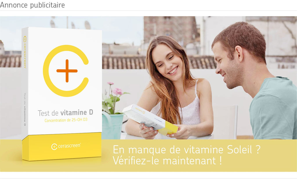 Test carence en vitamine D