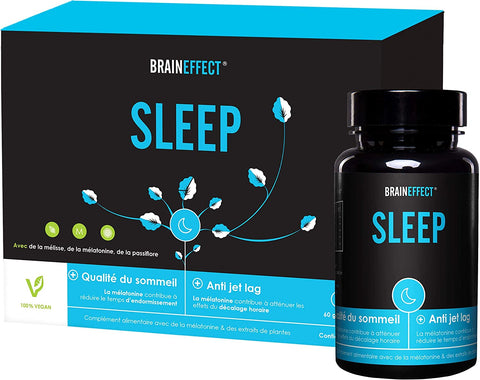 BrainEffect Sleep Mélatonine Gélules