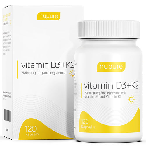 Complement alimentaire Nupure contre carence en vitamine D