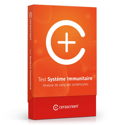 Test systeme immunitaire - analyse lymphocytes - cerascreen