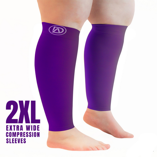 Dominion Active Compression Sleeves Wide Calf (1 Pair) (EL) - TheGivenGet