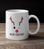 Rudolph the Red-Nosed Reindeer Merry Christmas White Mug - TheGivenGet