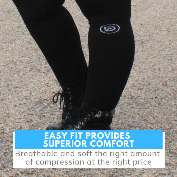 Dominion Active Wide Compression Socks - TheGivenGet