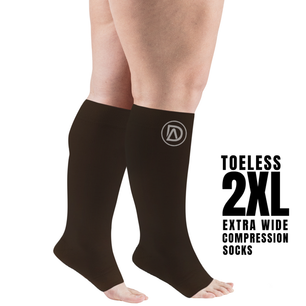 Dominion Active TOELESS Compression Socks - TheGivenGet