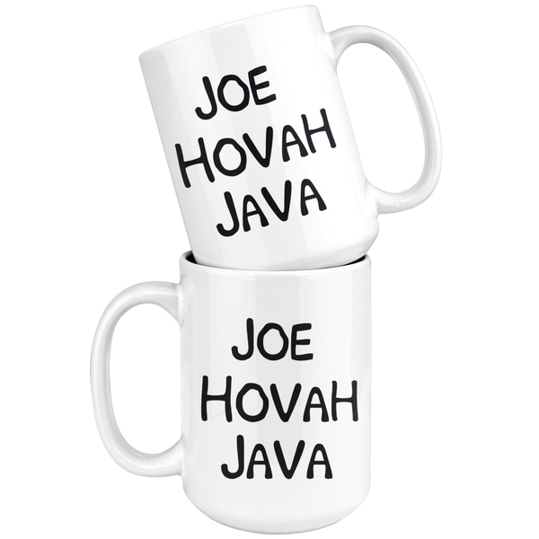 Joe Hovah Java White Mug - TheGivenGet