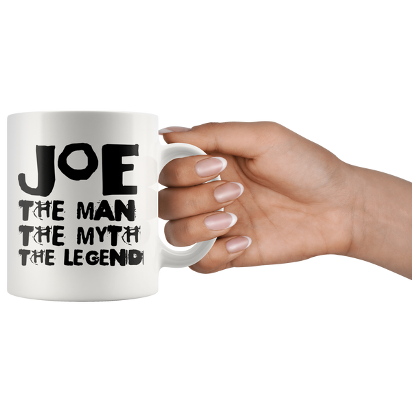 Joe The Man The Legend The Myth Joe Kenda White Mug - TheGivenGet