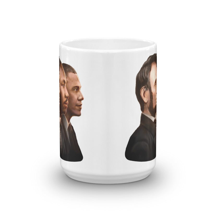 The Mug // Lincoln, King, & Obama