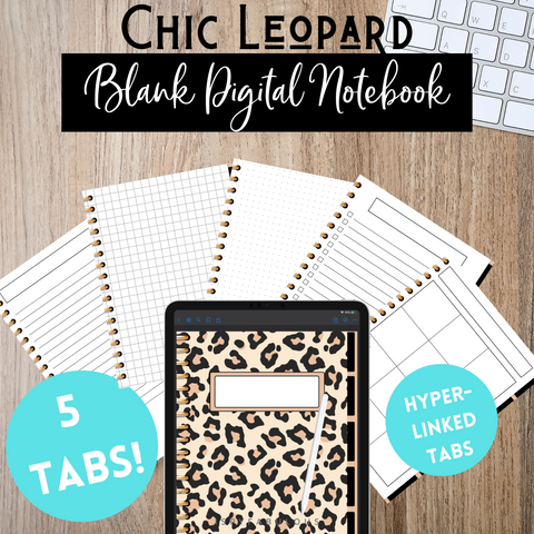 Leopard Digital Notebook