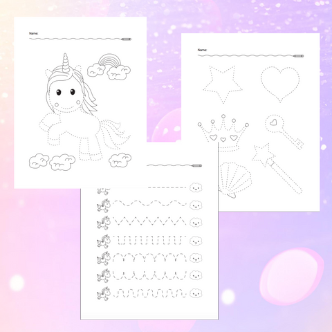 3 Magical Tracing Freebie!