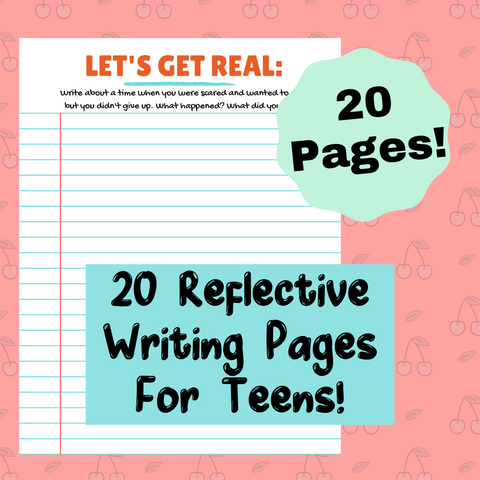 20 Reflective Journal Prompts for Teens