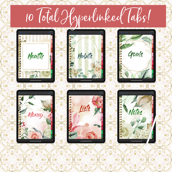 Be Your Own Hero Digital Planner