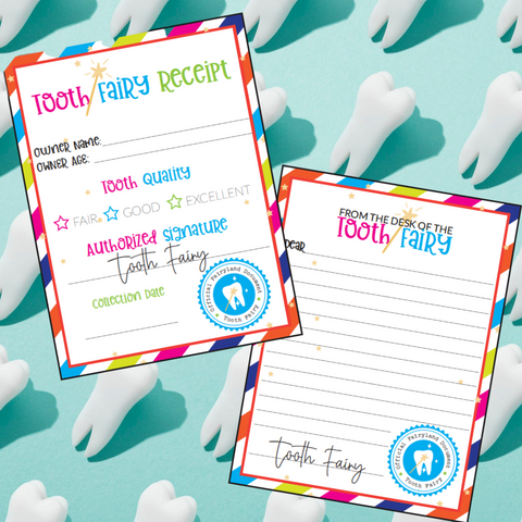 Tooth Fairy Certificate & Letter Printable!
