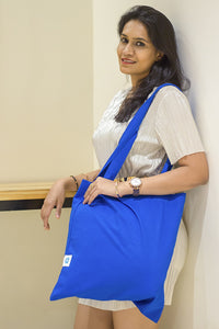 Basic Blue: Tote Bag