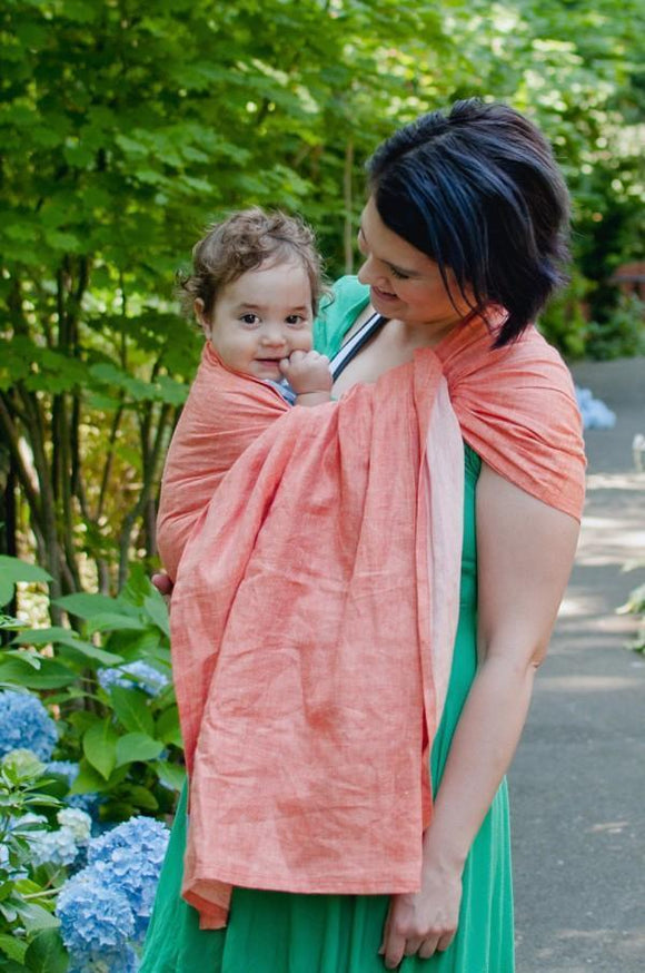 Oriole: Single Layer Linen Ring Sling
