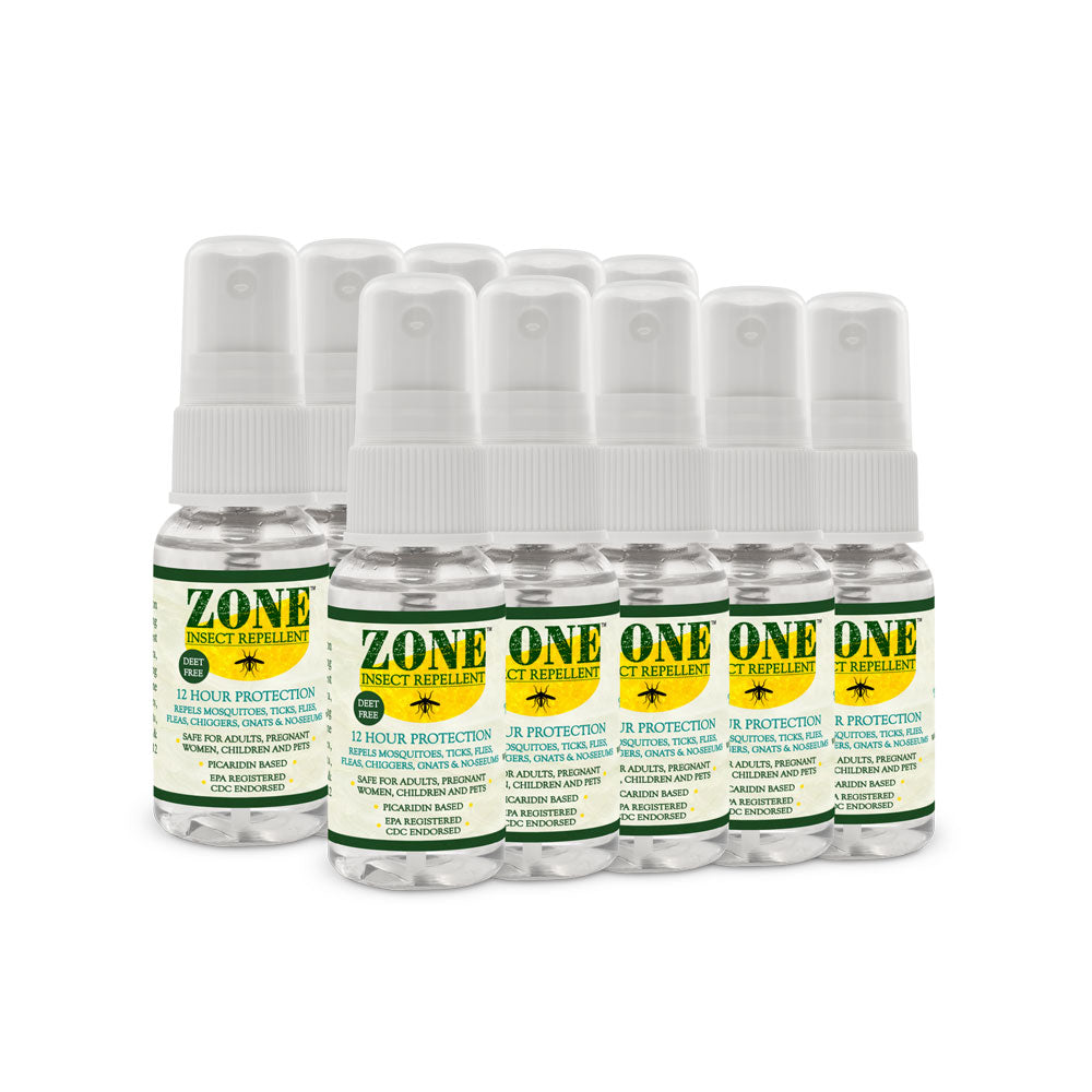 ZONE Insect Repellent Travel Size (10 pack case)