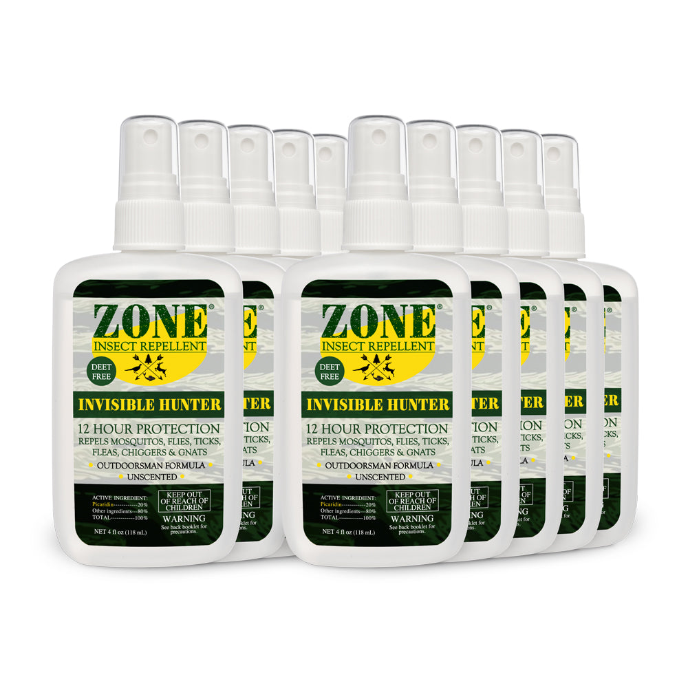ZONE Insect Repellent - Invisible Hunter (10-Pack Case)