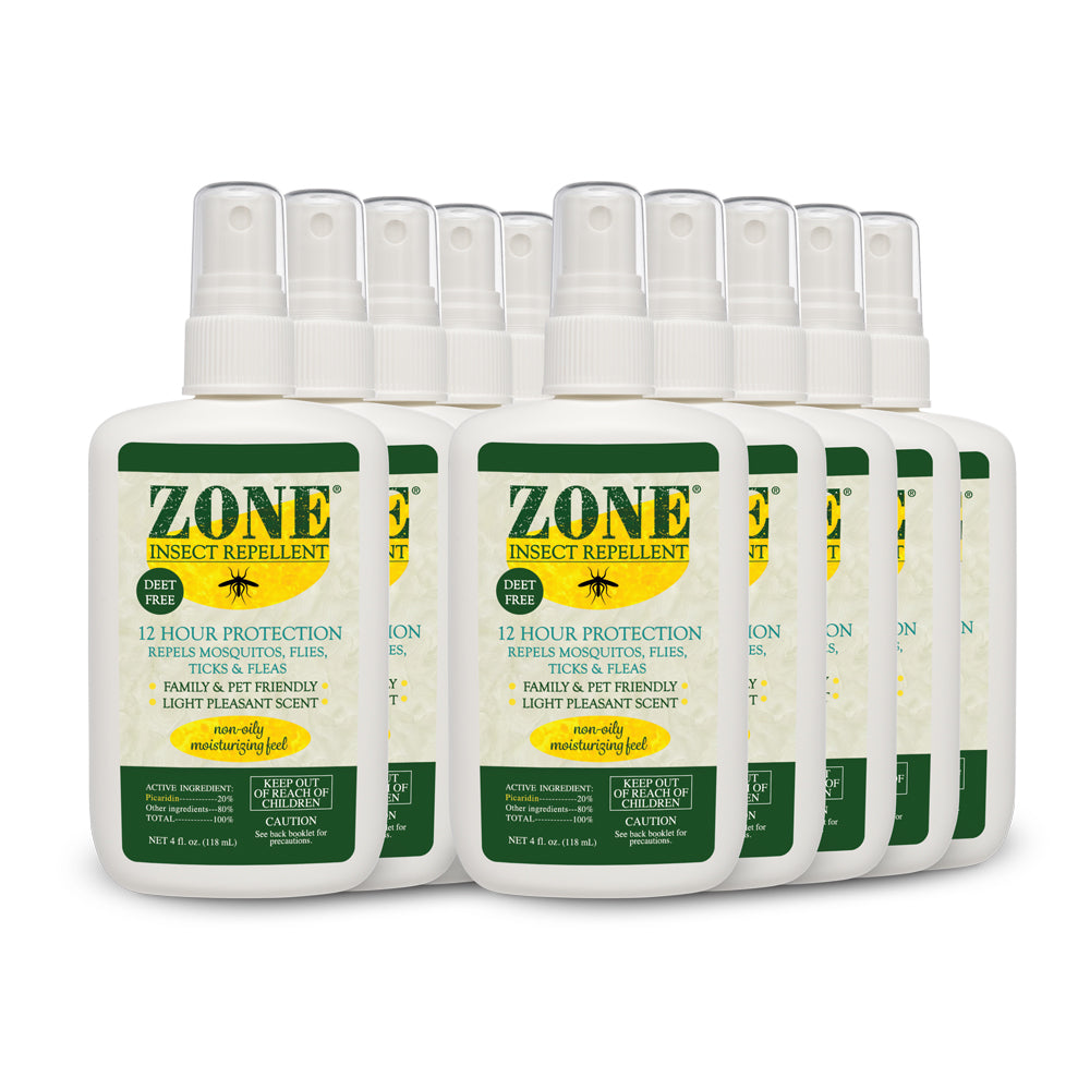 Global Outreach Zone Insect Repellent (10-Pack Case)