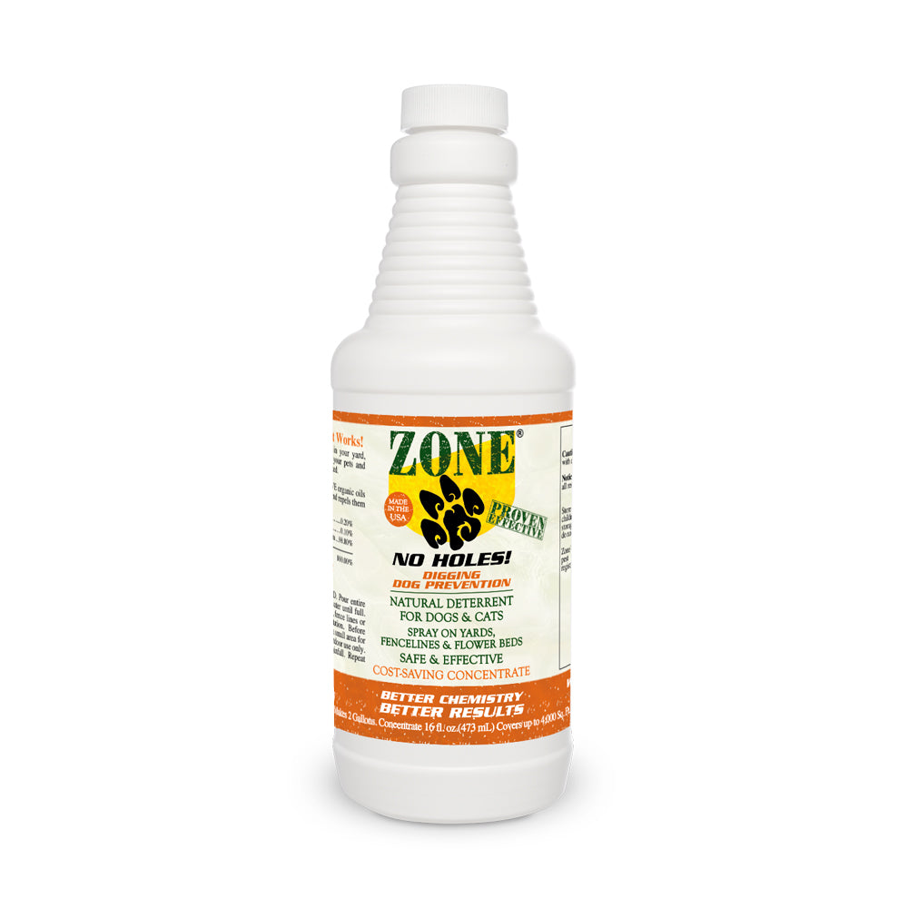 ZONE - No Holes! Digging Dog Prevention Concentrate