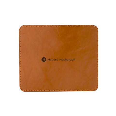 Hedera Leather Mouse Pad