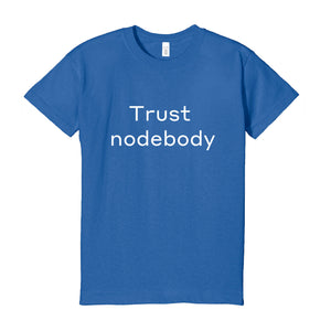 """nodebody"" T-shirt"