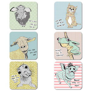 Casey Rogers - Coaster set of 6