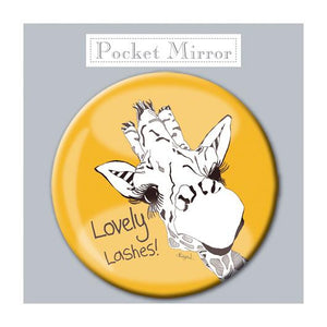 Lovely Lashes! Pocket Mirror