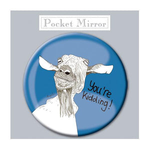 You're Kidding! Pocket Mirror