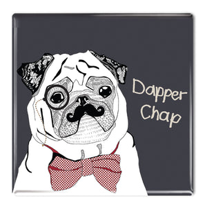 Dapper Chap - Fridge Magnet