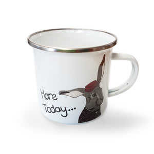 Hare Today - Enamel Mugs