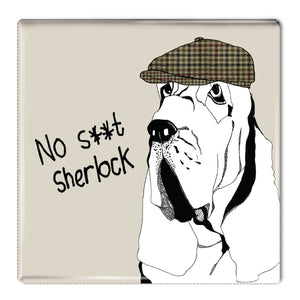 No S**t Sherlock - Fridge Magnet