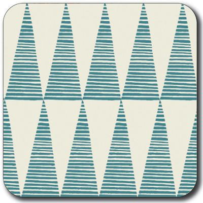 Tall Teal Triangles