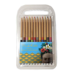 Frida Kahlo Frida Face - Duo Colouring Pencils