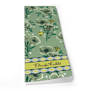 Frida Kahlo Green Floral - Shopper Pad