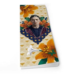 Frida Kahlo Orange Floral - Shopper Pad