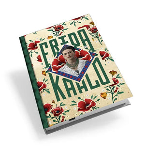 Frida Kahlo Red Poppies Hardback Journal