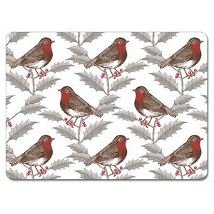 Robin and Holly Tablemat Set of 4