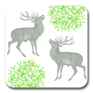 Stag and Mistletoe Potstand