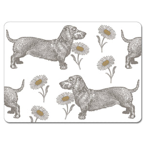 Dog and Daisy Tablemat Set of 4