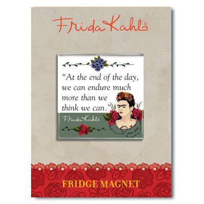 Frida Kahlo Thorns Quote Fridge Magnet