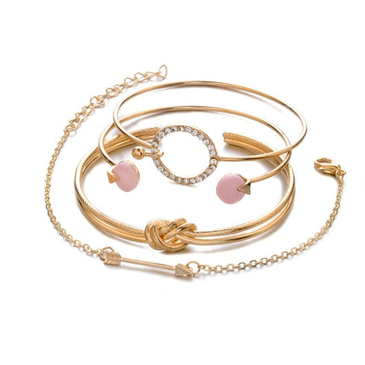 Four Piece Bangle Set