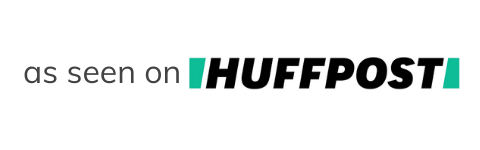 mazi + zo silver VOTE necklace was featured on HuffPost