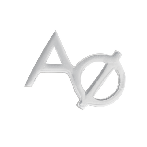 Silver Alpha Phi earring, we sell licensed sorority jewelry