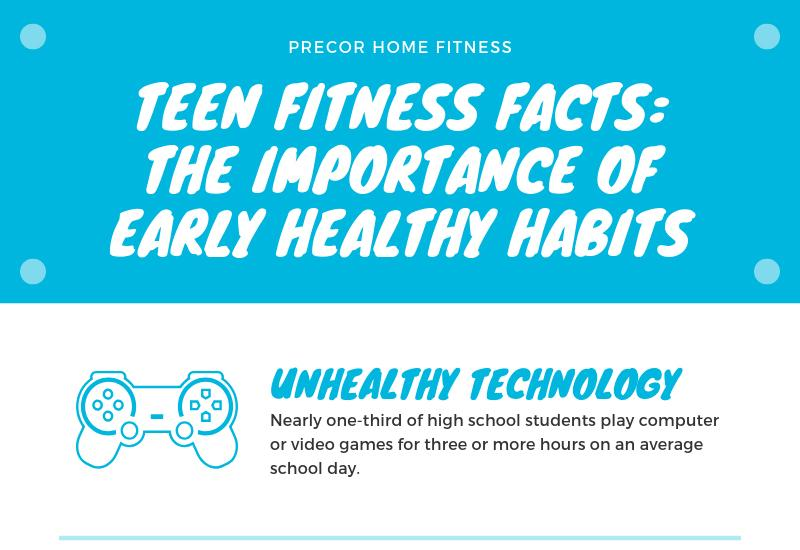 Teen Fitness Facts: The Importance of Early Healthy Habits