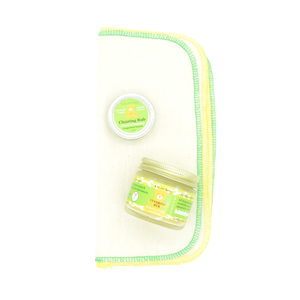BALM! Baby - Clearing Rub (Eucalyptus) (TRAVEL) - Natural rub for chest and tummy (for congestion & nausea) - (1/2oz tin)