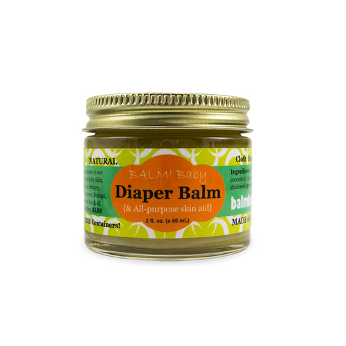 BALM! Baby - Diaper Balm and ALL purpose skin aid Natuarl Diaper Rash balm and all purpose skin aid