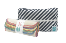 Load image into Gallery viewer, Luludew - Cloth Wipes & Wet Bag Set - ZeroWaste