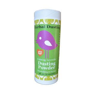 BALM! Baby - Herbal Dusting  Powder {ALL Natural, Talc FREE} - 4oz.