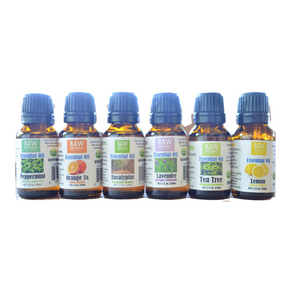The Staples Aromatherapy Essential Oils Set 6 Pack