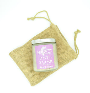 Choose between 4 Relaxing Bath Soak scents!