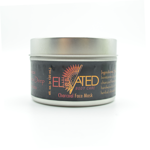 ELEVATED - Activated Charcoal Facial Mask - 4oz.